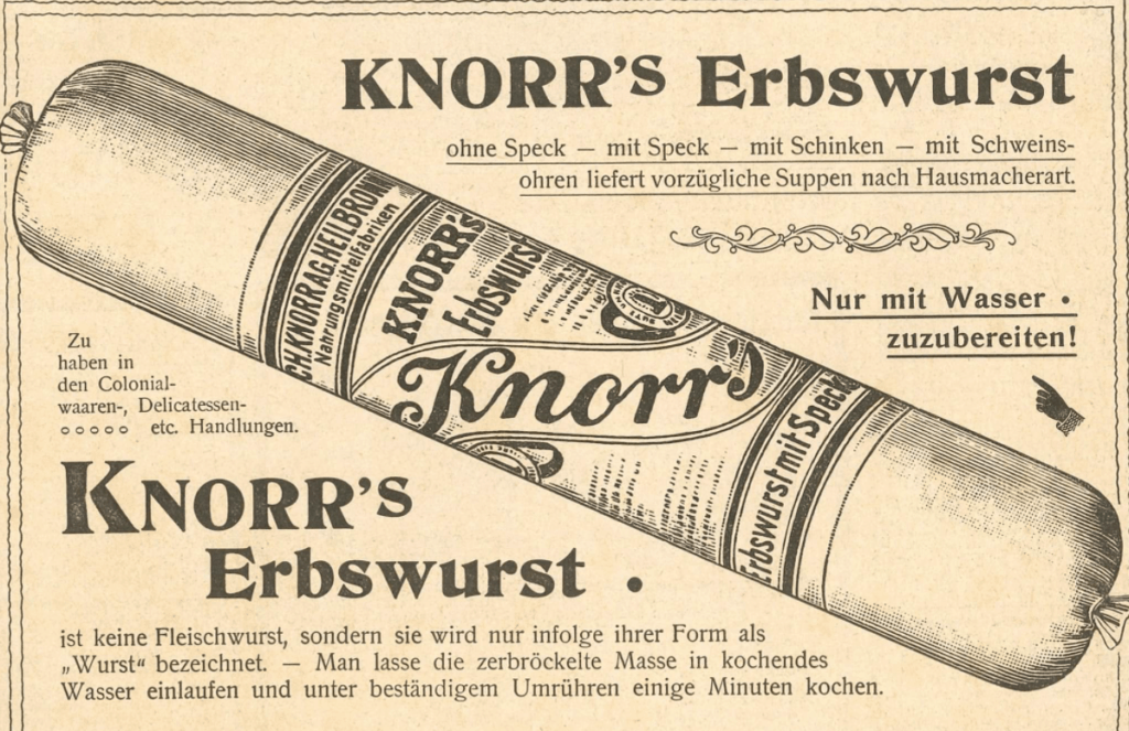 Erbswurst
