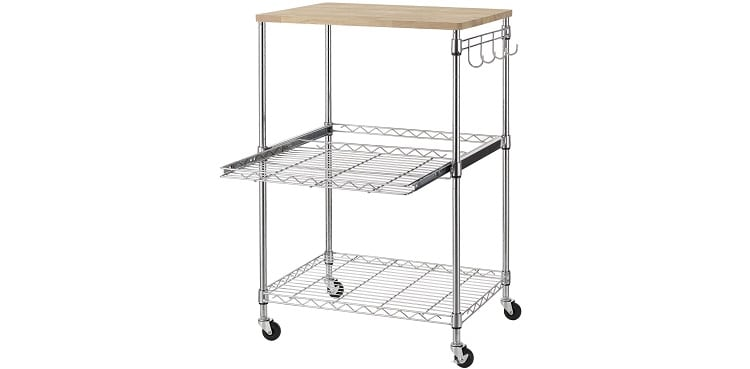 Finnhomy Rolling Kitchen Cart