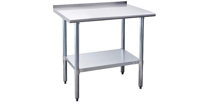 Hally Stainless Steel Table for Prep & Work