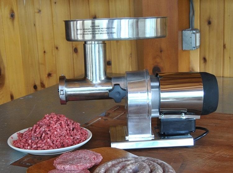 Weston 09-0801W Meat Grinder