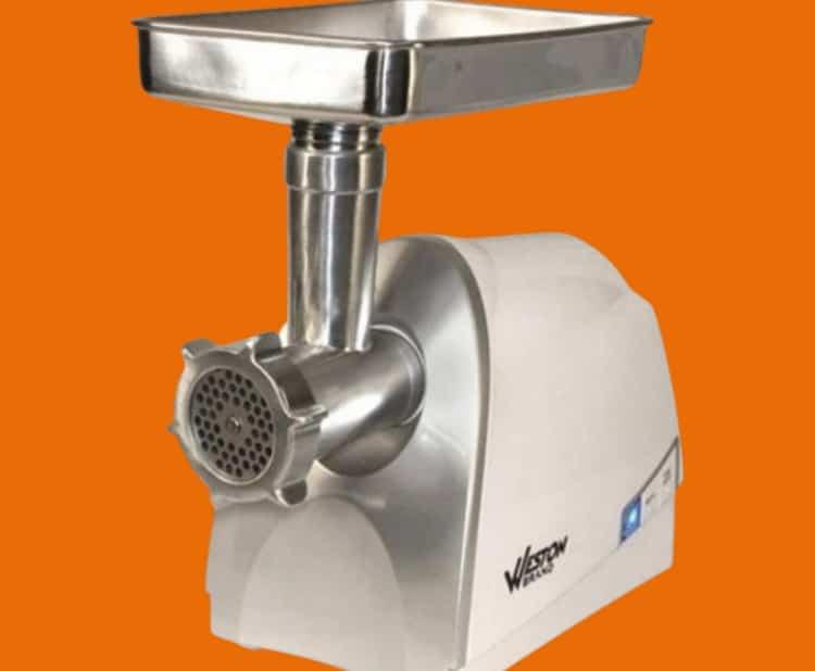 Weston 33-0201-W H/D Meat Grinder